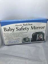 Shynerk Baby Car Mirror, Safety Car Seat Mirror For Rear Facing Infant (5-0)