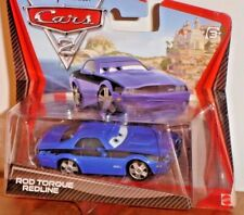 Disney Pixar Cars 2 Rod Torque Redline on Short Card 1:55 DieCast New