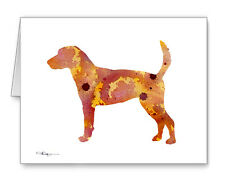 English Foxhound Note Cards With Envelopes
