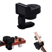 1pc JT-306 Mini Guitar Tuner Digital LCD Clip On Tuner for Electric Acoustic