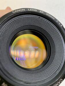 Canon EF 50mm F/1.4 USM Lens for Canon SLR Cameras EF MOUNT!
