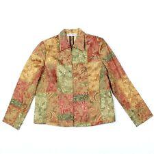 2c209809651c8 VINTAGE Drapers   Damons Victorian Jacket Petites 10 10P Full Zip Color  Block