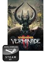 WARHAMMER: VERMINTIDE II 2 PC STEAM KEY