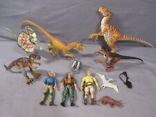 Jurassic Park Lot VELOCIRAPTOR DILOPHOSAURUS T-REX jp. 42 06 18 1997