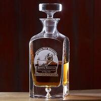 Pappy Van Winkle Glass Decanter 23 year reserve bourbon Valentine man gift EMPTY