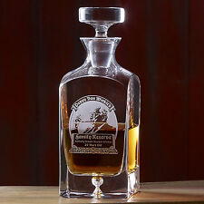 Pappy Van Winkle Crystal Decanter Set with 2 glasses 23 year reserve Father Day