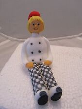 lady chef edible figure birthday cake topper,
