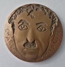 Belle  Médaille Bronze Charlie Chaplin 1974