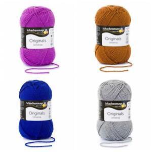 Schachenmayr Universa 50 g Wolle Universalgarn Schurwolle mix&knit 5 Farben