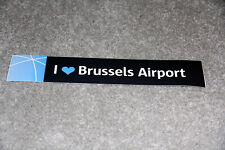 BRUSSELS AIRPORT STICKER