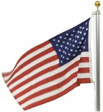 US Flag Duratex And 20ft Flagpole Tough Heavy Duty Pole Commercial Flag