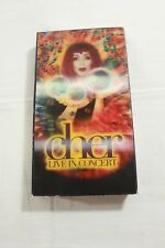 Cher - Live In Concert (VHS, 1999)