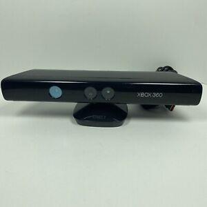 Genuine Microsoft XBOX 360 Kinect Sensor Bar Model 1414 Black With USB Adapter