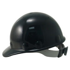 Fibre Metal Supereight Hard Hat with Ratchet Suspension - Black