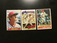 1976,1979,1980 Topps  Carl Yastrzemski Boston Red Sox 3 Baseball  Cards-NM NICE