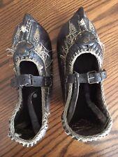 Ethnic Yemenite Jewish Woman's Shoes San'a Yemen Judaica Judaism Israeli