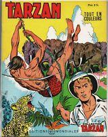 Collection TARZAN n°39. Editions  Mondiales 1969.  HOGARTH. Tout en couleurs