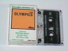 GOLDEN SOUNDS OF THE OLYMPICS* POST 80006 CASSETTE* R&R/ DOO WOP*EX+/NEAR MINT