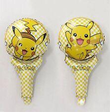 Pokemon Go Pikachu Foil Children Party Hand Balloons Gift Birthday Decoration UK