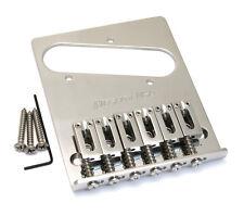 Hipshot Stainless Bender Bridge for Modern Fender Telecaster/Tele® 44100SS-M6B