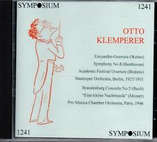 OTTO KLEMPERER - WEBER - BEETHOVEN - STAATSOPER ORCH 1927-1931 - PRO MUSICA 1946