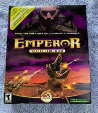 PC Emperor Battle For Dune Real-Time Strategy New / Sealed + Dune 2000!