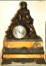 Extravagantes bronce reloj/sina mármol.top.ca.1820