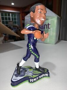 2013 Percy Harvin Seattle Seahawks Pennant Base Bobblehead Forever Collectibles