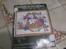 Design Works   Counted Cross Stitch Kit # 9703 Magnolias Fruit Basket