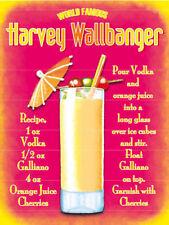 Harvey wallbanger, bar, Pub & RESTAURANTES, ORIGINAL Imán de Nevera