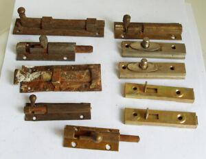 Vintage Sliding Locks