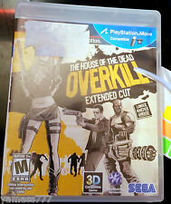 PS3 House of the Dead Overkill  Extended Cut Sony Playstation 3...NEW