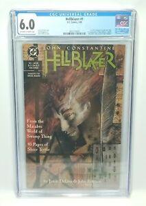 HELLBLAZER #1 - CGC 6.0 FN - 1st John Constantine Title - Key Comic DC 1988