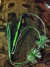 Custom Bowfishing bow string with finger savers and catwiskers SPECIAL!