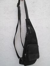-AUTHENTIQUE sac bandoulière HEXAGONA  toile  TBEG vintage bag