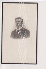 Oud doodsprentje DP J.M. Jan-Baptist Pauwels Putte bij Mechelen 1903