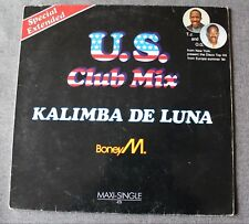 Boney M, Kalimba de luna US club mix, Maxi Vinyl
