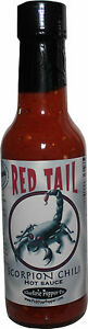 Trinidad Moruga Scorpion Hot Sauce Red Tail Extreme Heat Chili Pepper Hottest