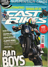 NEW! FAST BIKES UK Issue 280 October 2013 Free SUSPENSION GUIDE Motorcycle Cycle