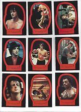 1979 TOPPS ROCKY II Complete sticker set 22 nm to mint