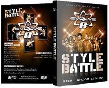 EVOLVE Wrestling 8: Style Battle DVD, Austin Aries John Davis DGUSA AR Fox ROH