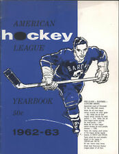 1962-63 American Hockey League Yearbook