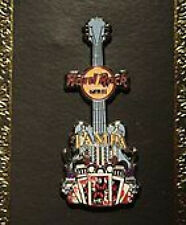 Hard Rock Cafe TAMPA 2011 Core City Tee V8 Guitar PIN on Card HRC Catalog #59350