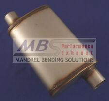 "muffler FULL BOAR Max Flow SS 2.5"" IN/OUT MF1236"