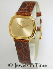 Piaget Vintage 18k Yellow Gold Quartz Ladies Watch