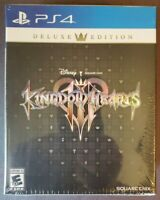 KINGDOM HEARTS III DELUXE EDITION ~ (PS4) SONY PLAYSTATION 4 ~ NEW SEALED GAME