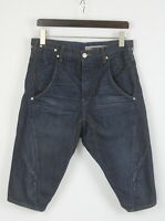 LEVI STRAUSS & CO. ENGINEERED JEANS Men's SMALL Twisted Denim Shorts 25569-JS