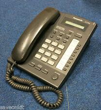 Panasonic KX-T7665E-B UK Digital LCD Display Single Line Corded Telephone