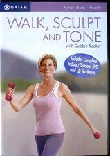 Walk Aerobics Exercise DVD - GAIAM Walk, Sculpt and Tone with Debbie Rocker!