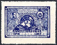 Afghanistan 358, MNH. United Nations, 3rd anniv. Emblem, 1948